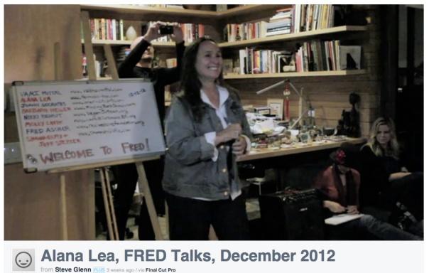 Alana Lea #FREDtalk